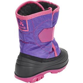 Kamik Snowbug3 Calzado Niños, purple/magenta-violet/magenta